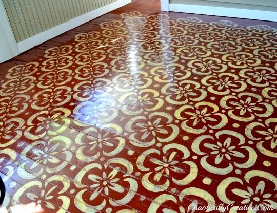 Rosa Beltran Design Diy Stencil Painted Floor Round Up