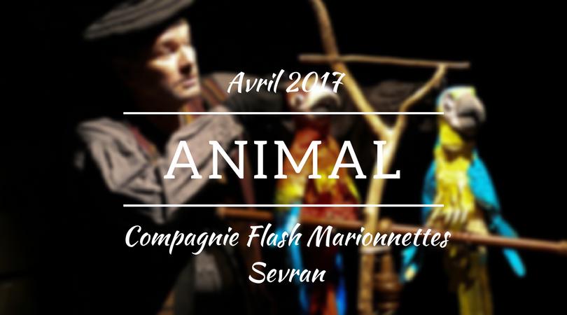 Théâtre jeune public en Seine-Saint-Denis: Animal