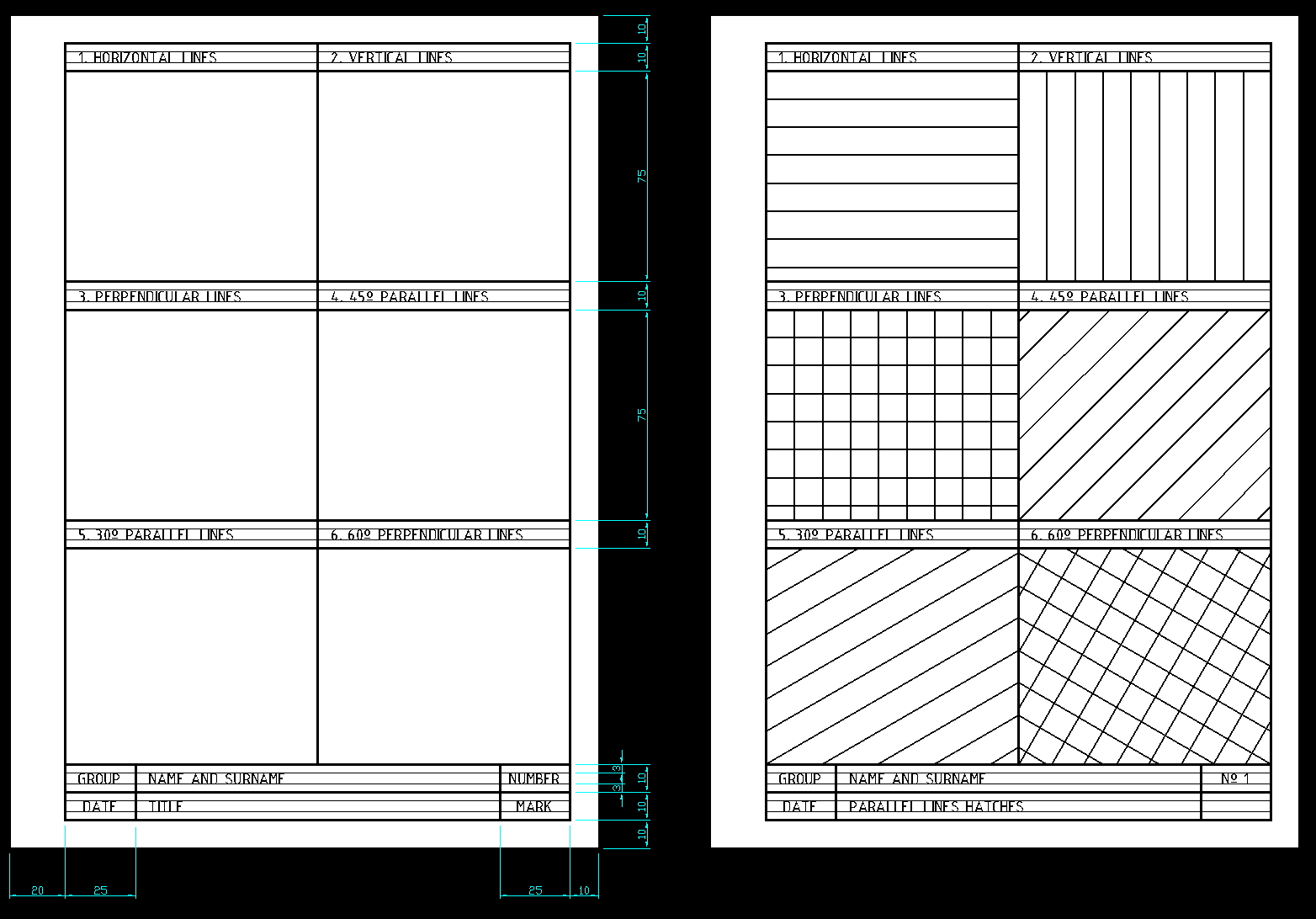 Drawing Parallel Lines Using Set Squares : Plastinglish visual arts parallel perpendicular and