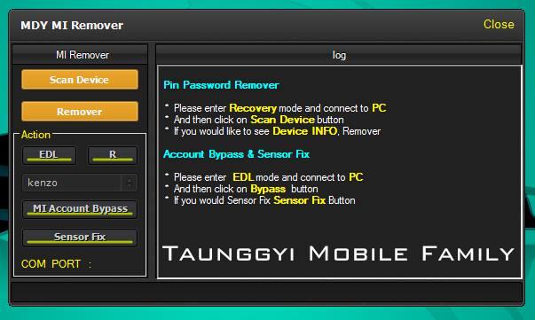 Mi account Reset Tools ~ Gsm Help Mobile