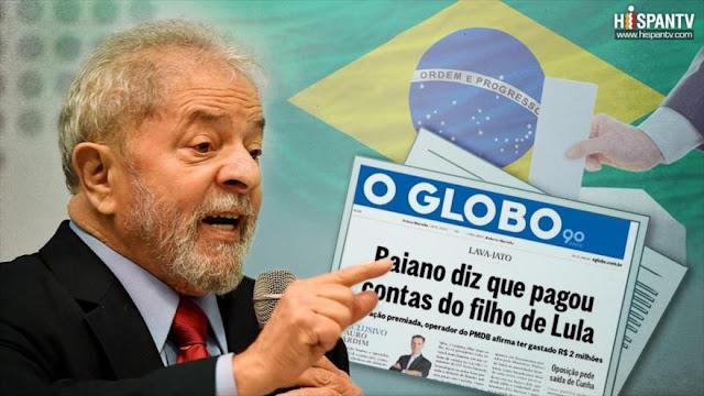 Lula denuncia 'campaña de difamación' de medios en su contra