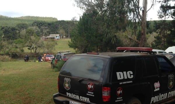 Corpo é encontrado em fundo de rio em Curitibanos