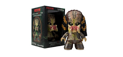 San Diego Comic-Con 2018 Exclusive Unmasked Predator Titan Glow in the Dark Vinyl Figure by Titan Entertainment x ThinkGeek