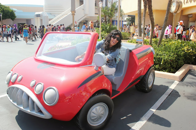 Tokyo Disneyland Monster's Inc Mike's Red Car
