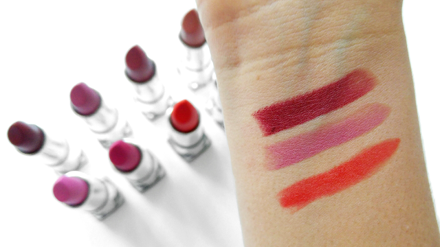 Maybelline New York Color Sensational Mattes Swatches