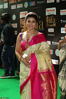 Sneha Looks Super cute in Red Silk Saree at IIFA Utsavam Awards 023.JPG