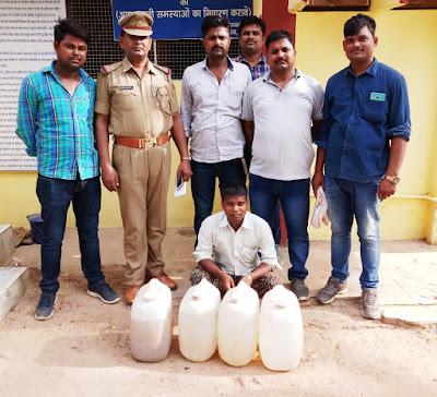 Basti Police Arrest Liquor Loot Theft Accuse Uttar Pradesh