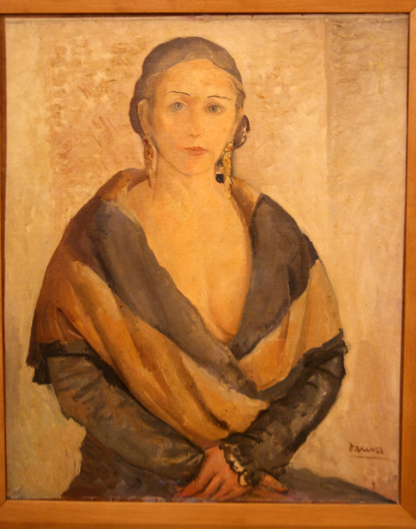 Quadre de Pere Daura i Garcia (1896-1976) per Teresa Grau Ros