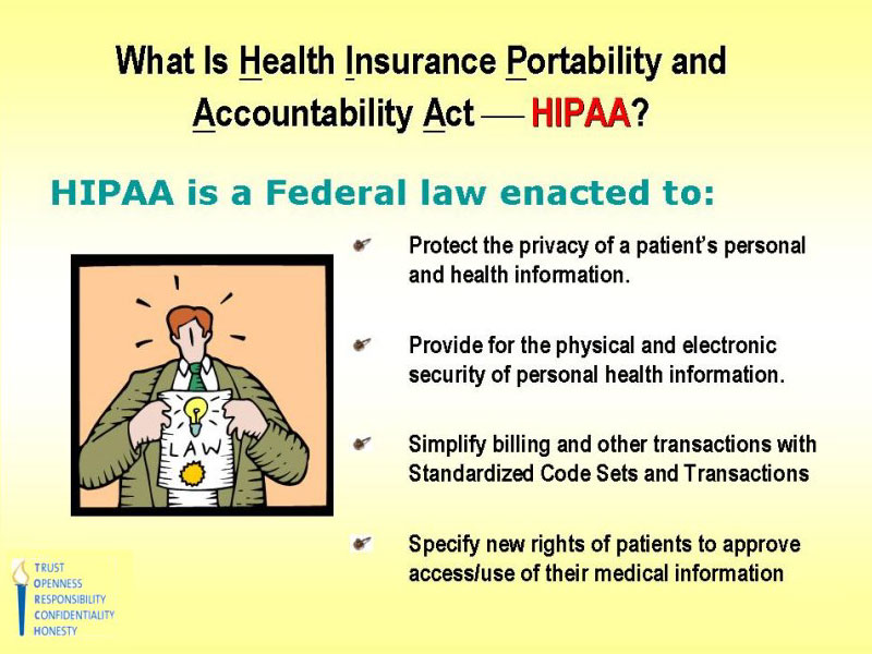 Always caring always here what is hipaa