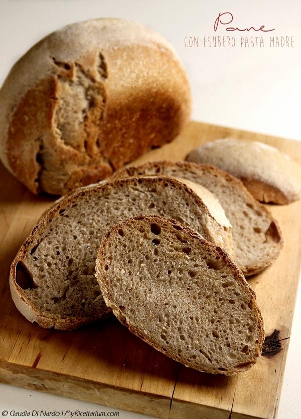 Pane con esubero pasta madre