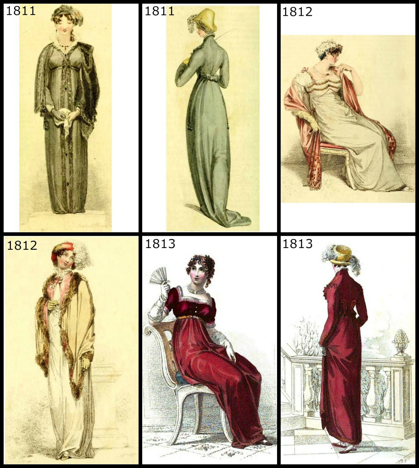 Regency History: Regency era fashion for Christmas 1806-1820