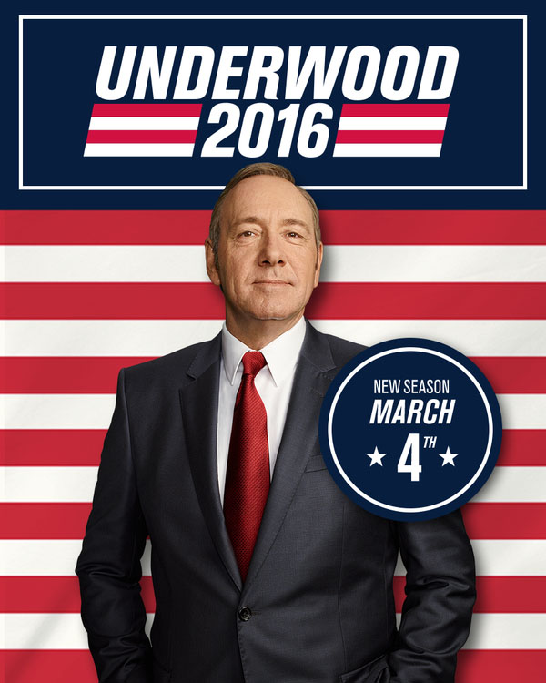 House of Cards 4ª Temporada Torrent - WEBRip 720p Dual Áudio (2016)