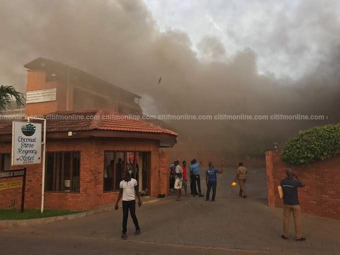 Breaking: Fire guts Coconut Grove Hotel