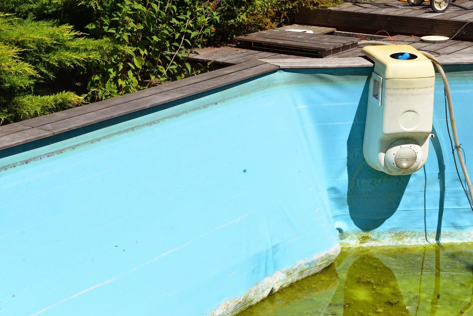 piscine bois qui se deforme