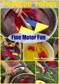 Toddler fine motor play