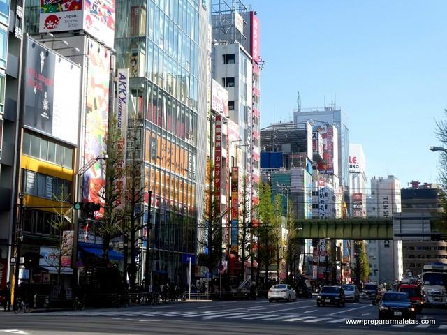 qué ver en Akihabara en Tokio