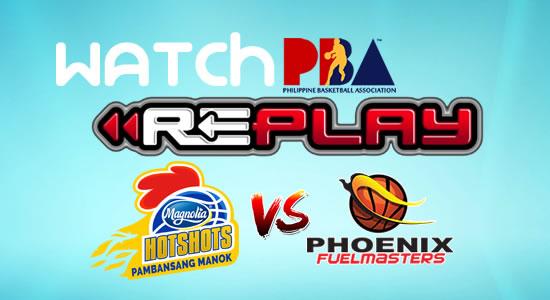 Video List: Magnolia vs Phoenix game replay January 20, 2018 PBA Philippine Cup