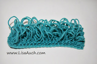 Free crochet Patterns-Crochet Stitches-loop Stitch