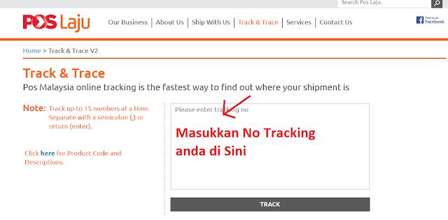 Pos Laju Tracking: Semakan Status Parcel Secara Online