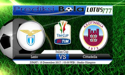 PREDIKSI SKOR Lazio vs Cittadella 15 Desember 2017