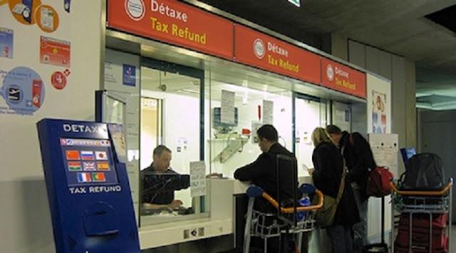 Devolução do imposto no aeroporto de Berlim