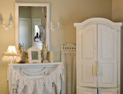 shabby chic paint colors behr