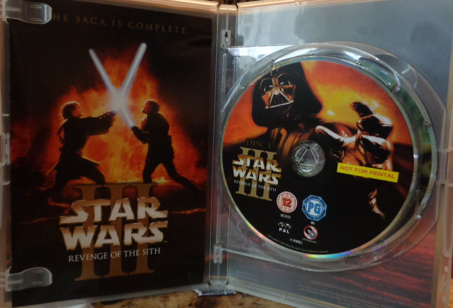 Movies On Dvd And Blu Ray Star Wars Iii Revenge Of The Sith 2005