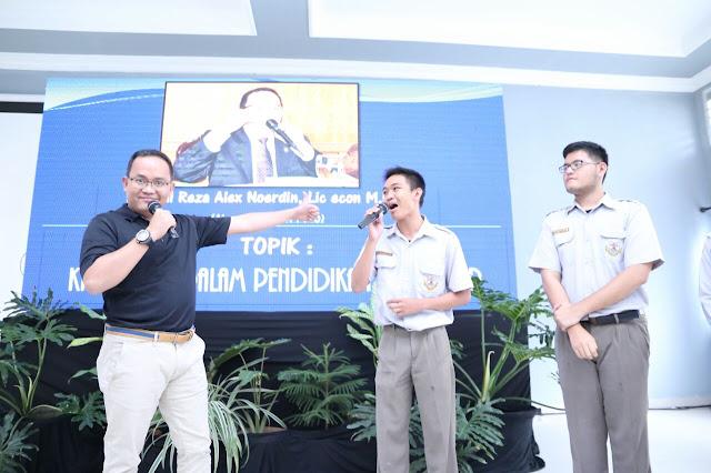 Prestasi Bupati Muba 'Bius' Pelajar di Palembang