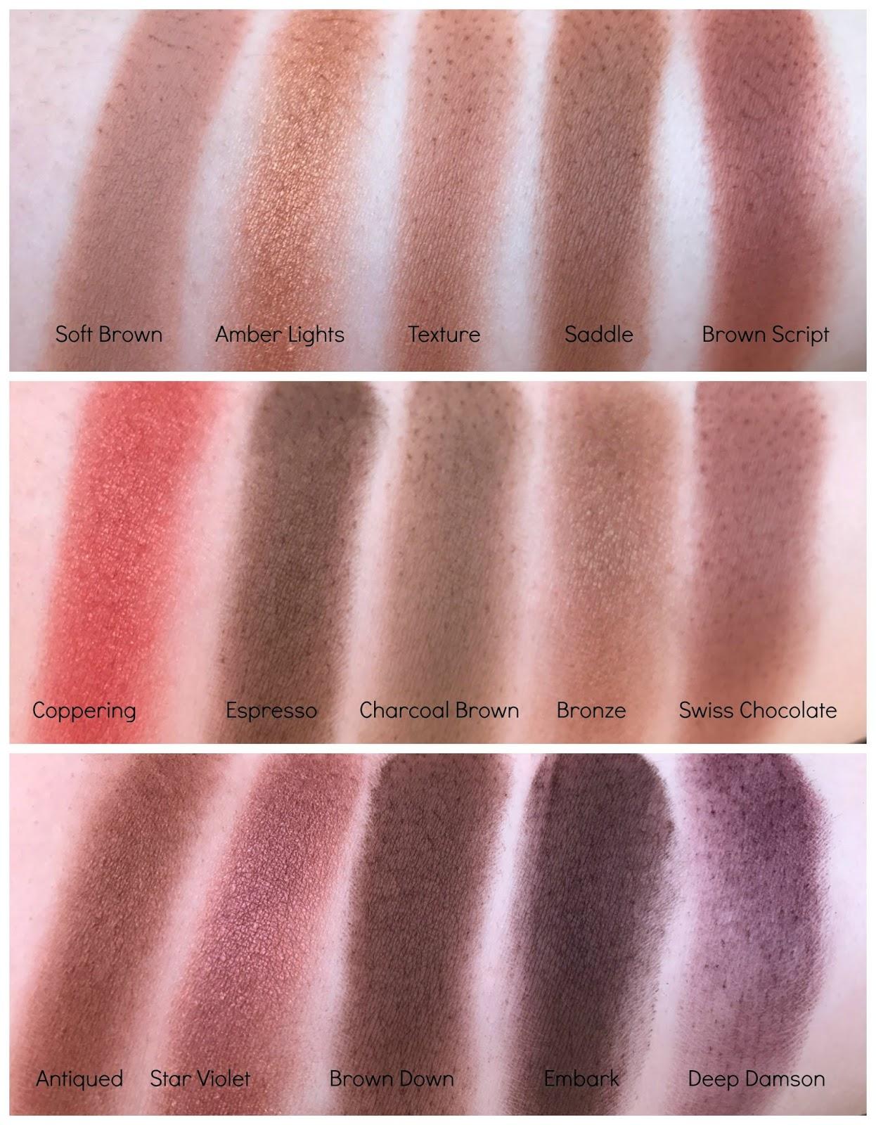 MAC Single Eyeshadow Collection