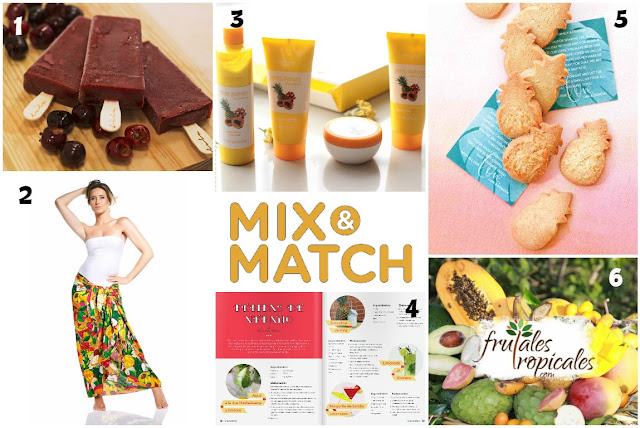 Mix&Match: Frutas tropicales (junio 2016)