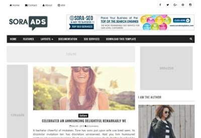 Sora Ads-For Affiliate Marketers Blogger Template