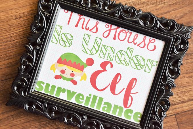 FREE Elf Surveillance Printables Are Here!