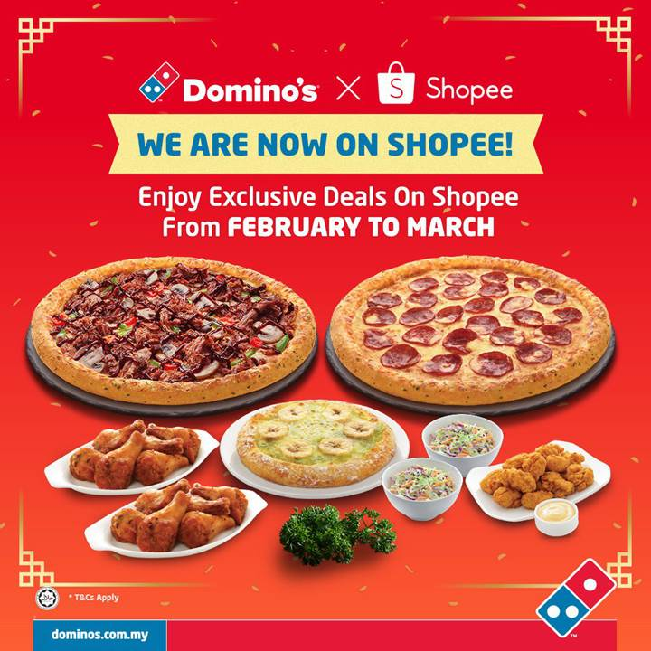 Hot Domino S Pizza Deals Exclusively On Shopee