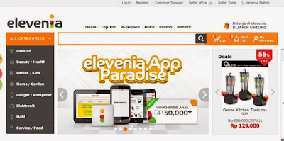 Model E-Commerce dan Proses Bisnis dari Elevenia