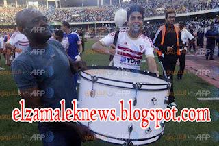 فيديو روعة لاعبي الزمالك  ترقص علي أنغام الوايت نايتس بقيادة عمر جابر ومحمد إبراهيم