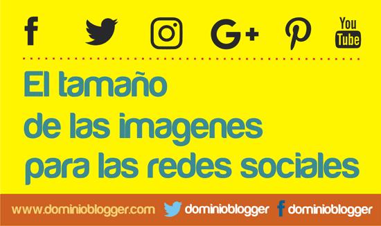 Medidas de las imagenes para Redes Sociales