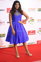 Eesha in Cute Blue Sleevelss Short Frock at Mirchi Music Awards South 2017 ~  Exclusive Celebrities Galleries 045.JPG