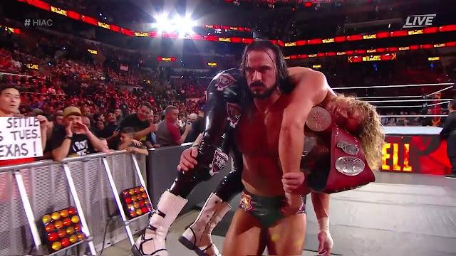 WWE Hell In A Cell 2018 Dolph Ziggler & Drew McIntrye