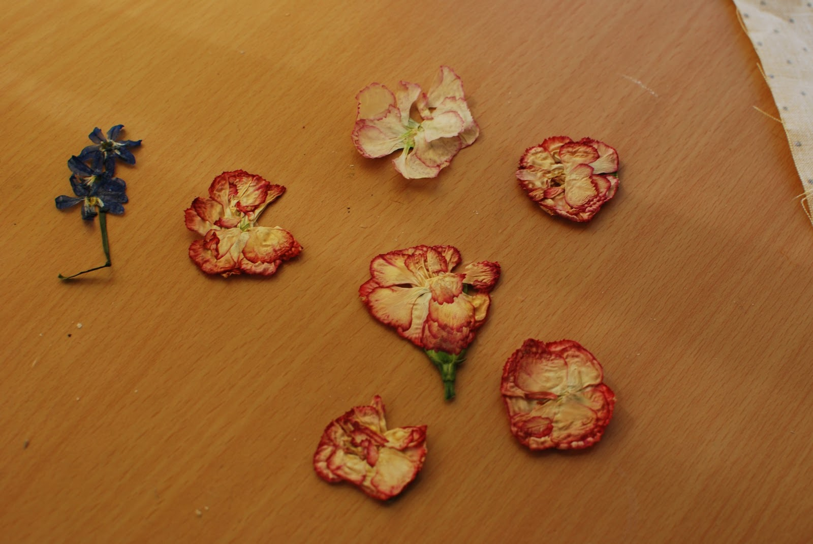 how to make a flower pressing