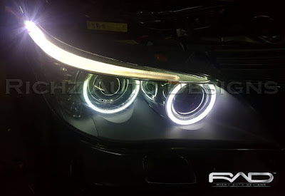 angel eyes mobil BMW