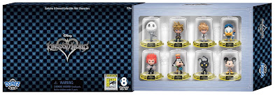 San Diego Comic-Con 2017 Exclusive Kingdom Hearts Domez Mini Figure Set by UCC Distributing