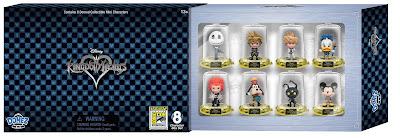 San Diego Comic-Con 2017 Exclusive Kingdom Hearts Domez Mini Figure Set by UCC Distributing