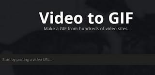 تحويل الفيديو الى صور متحركه