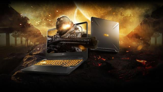 TUF Gaming FX505DU, Tetap Tangguh dan Lebih Bertenaga