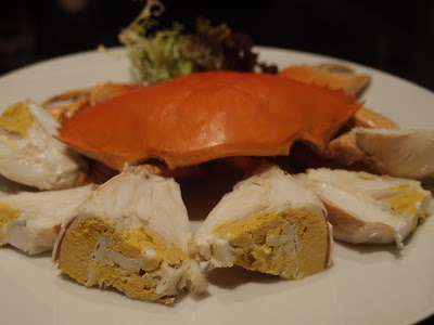 Chilled Yellow Roe Crab in Teochew Style