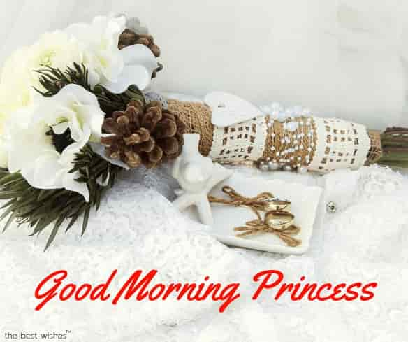good morning princess daughter
