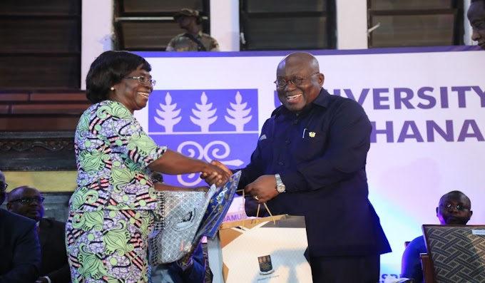 President Akufo-Addo Launches University Of Ghana Endowment Fund