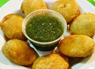 Potato Pakore Recipe - foodocon.com