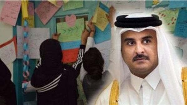 بالفيديو.. معارض قطري: الدوحة جندت مدرسات مصريات للتجسس على القاهرة