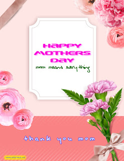 Happy mothers day flowers greetings image